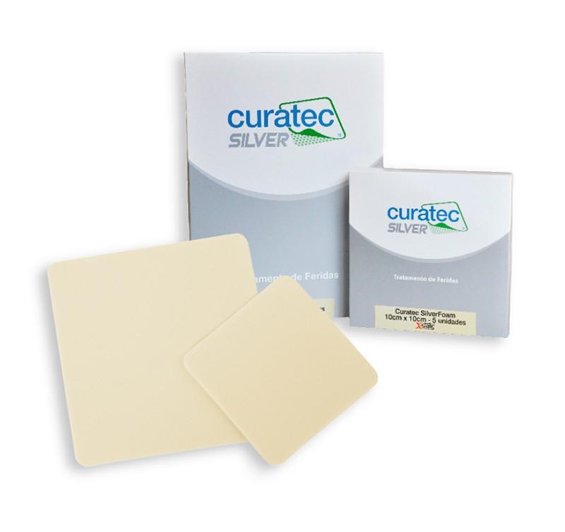 SilverFoam 10 cm x 10  cm - CURATEC