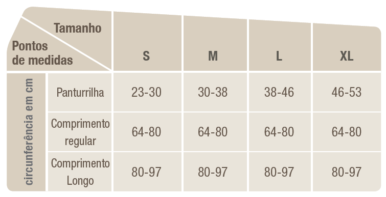 Meias de Compressão Comprinet® pro 18 - 3/4 Panturrilha 38-46cm - Par - BSN MEDICAL