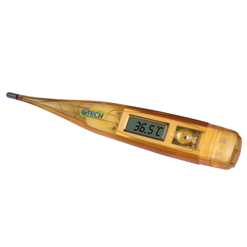 Termômetro Clínico Digital Laranja - G-TECH