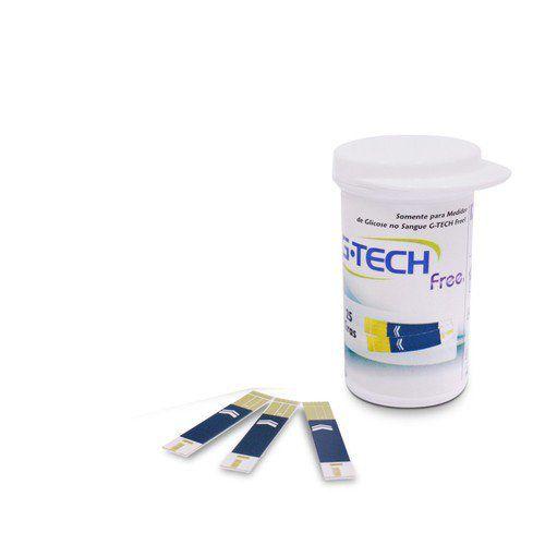 Tira de Glicemia Free C/ 50 Unidades - G-TECH
