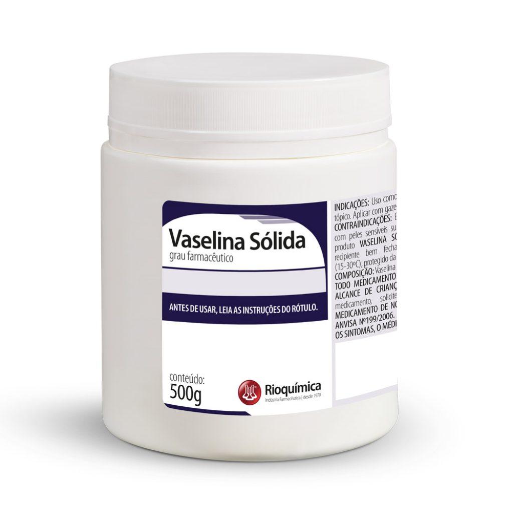 Vaselina Sólida (POMADA) 500g - RIOQUÍMICA
