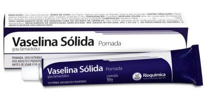 Vaselina Sólida (POMADA) 30g - RIOQUÍMICA