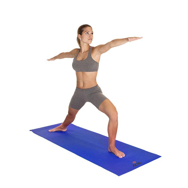 Tapete de Yoga Azul 61cm x 173 cm - ACTE