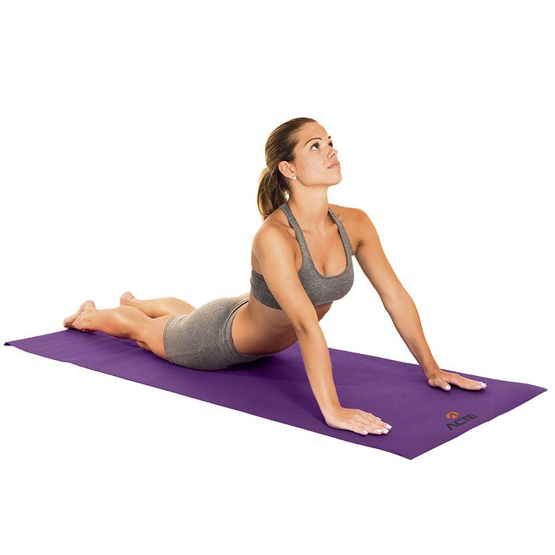Tapete de Yoga Roxo 61cm x 173 cm - ACTE