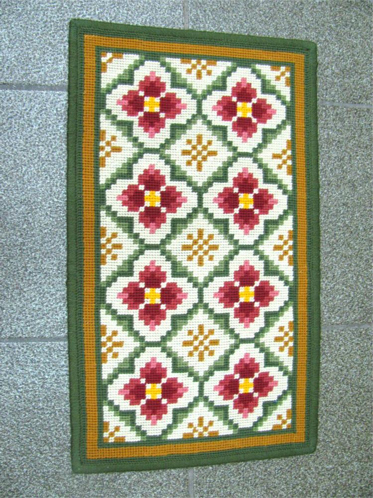 Tela Tapete Floral 7  - Conceição Spinola Tapeçaria