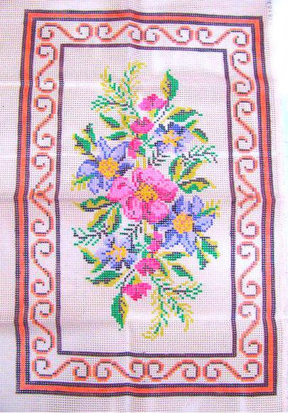 Tela Tapete Floral 9  - Conceição Spinola Tapeçaria