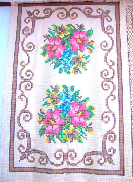 Tela Tapete Floral 12  - Conceição Spinola Tapeçaria