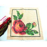 Kit Almofada Rosa Vermelha
