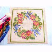 Kit Almofada Coroa de Flores I