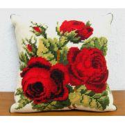 Almofada Arranjo Rosas Vermelhas III