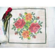 Kit Almofada Quatro Rosas