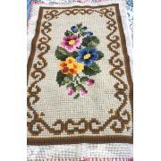 Tela Tapete Floral 38