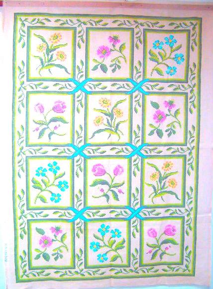 Tela Tapete Floral 15  - Conceição Spinola Tapeçaria