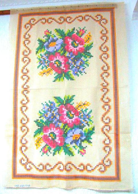 Tela Tapete Floral 16  - Conceição Spinola Tapeçaria