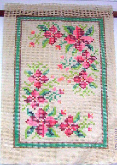 Tela Tapete Floral 17  - Conceição Spinola Tapeçaria