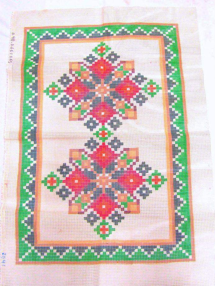Tela Tapete Geométrico 14  - Conceição Spinola Tapeçaria