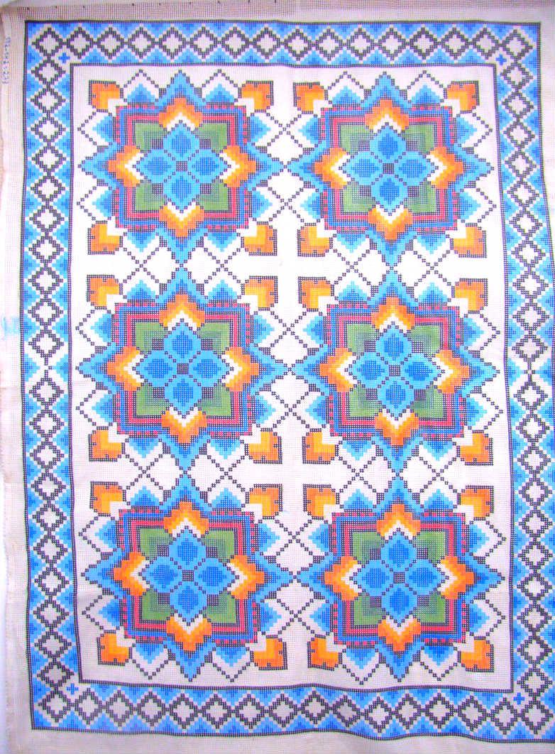 Tela Tapete Geométrico 23  - Conceição Spinola Tapeçaria