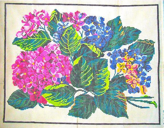 Tela Painel Floral 3  - Conceição Spinola Tapeçaria