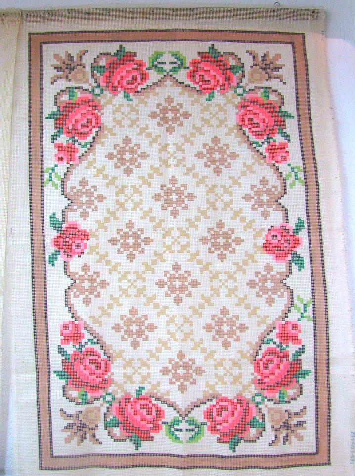 Tela Tapete Floral 27  - Conceição Spinola Tapeçaria