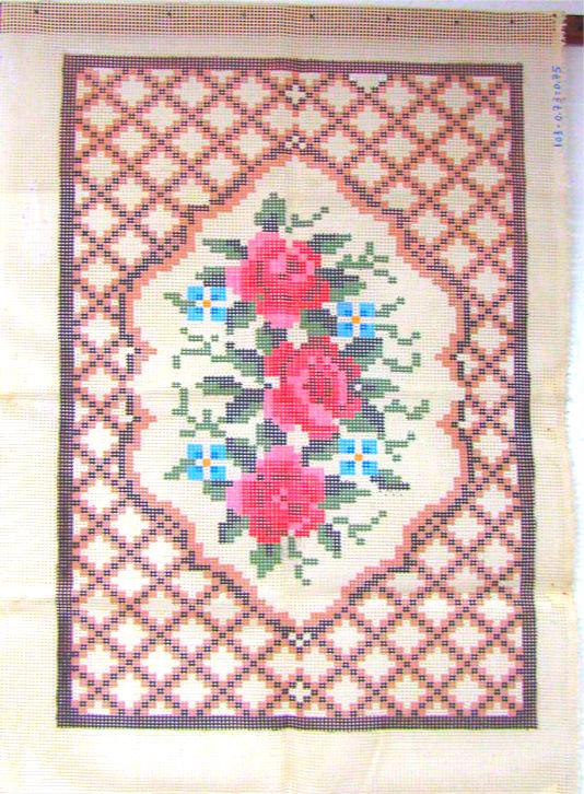 Tela Tapete Floral 26  - Conceição Spinola Tapeçaria