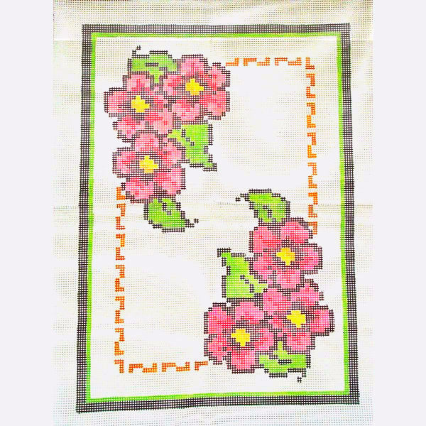 Tela Tapete Floral 2  - Conceição Spinola Tapeçaria