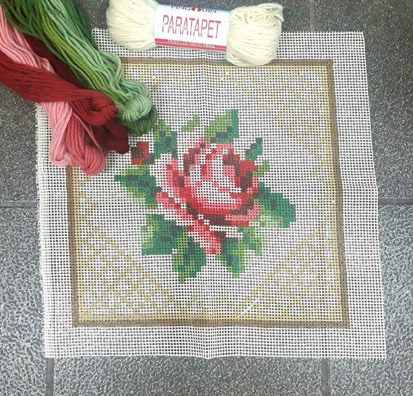 Kit Almofada Rosinha (tons de rosa)  - Conceição Spinola Tapeçaria