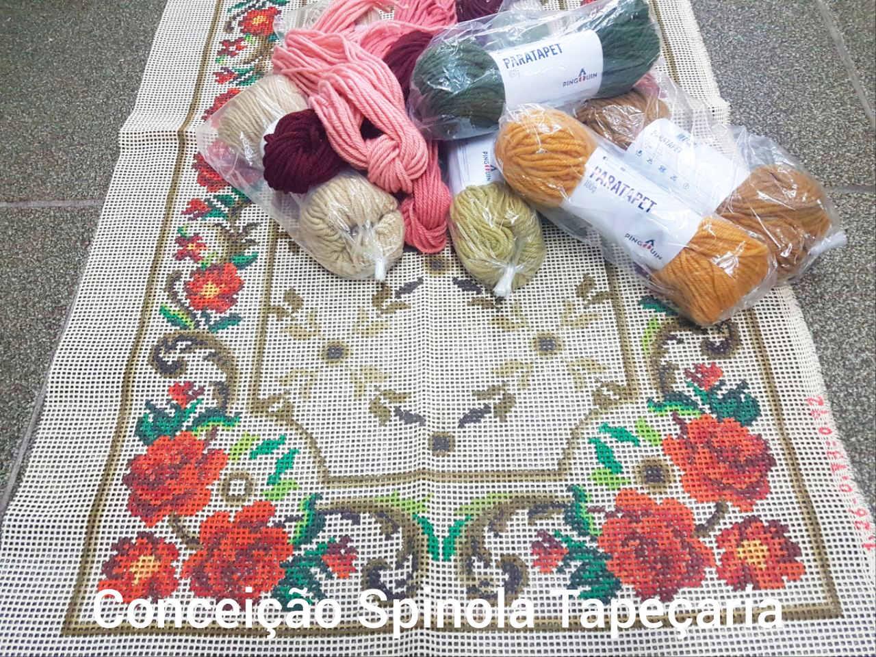Kit Tapete Rosinhas  - Conceição Spinola Tapeçaria