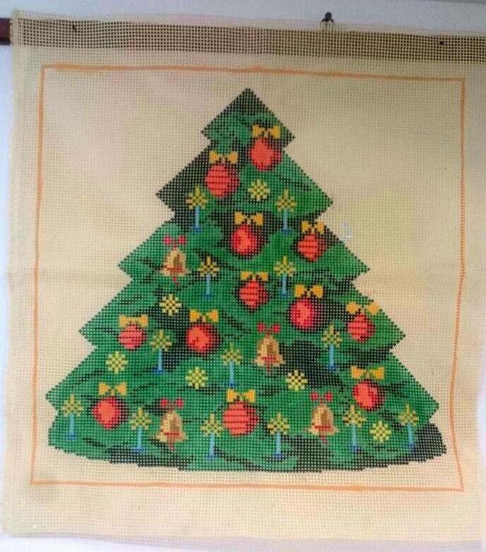 Tela Painel Árvore de Natal  - Conceição Spinola Tapeçaria