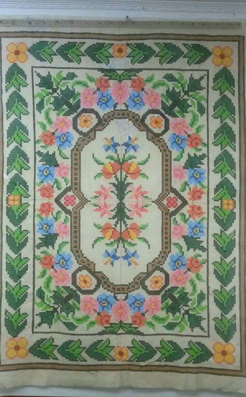 Tela Tapete Floral 36  - Conceição Spinola Tapeçaria