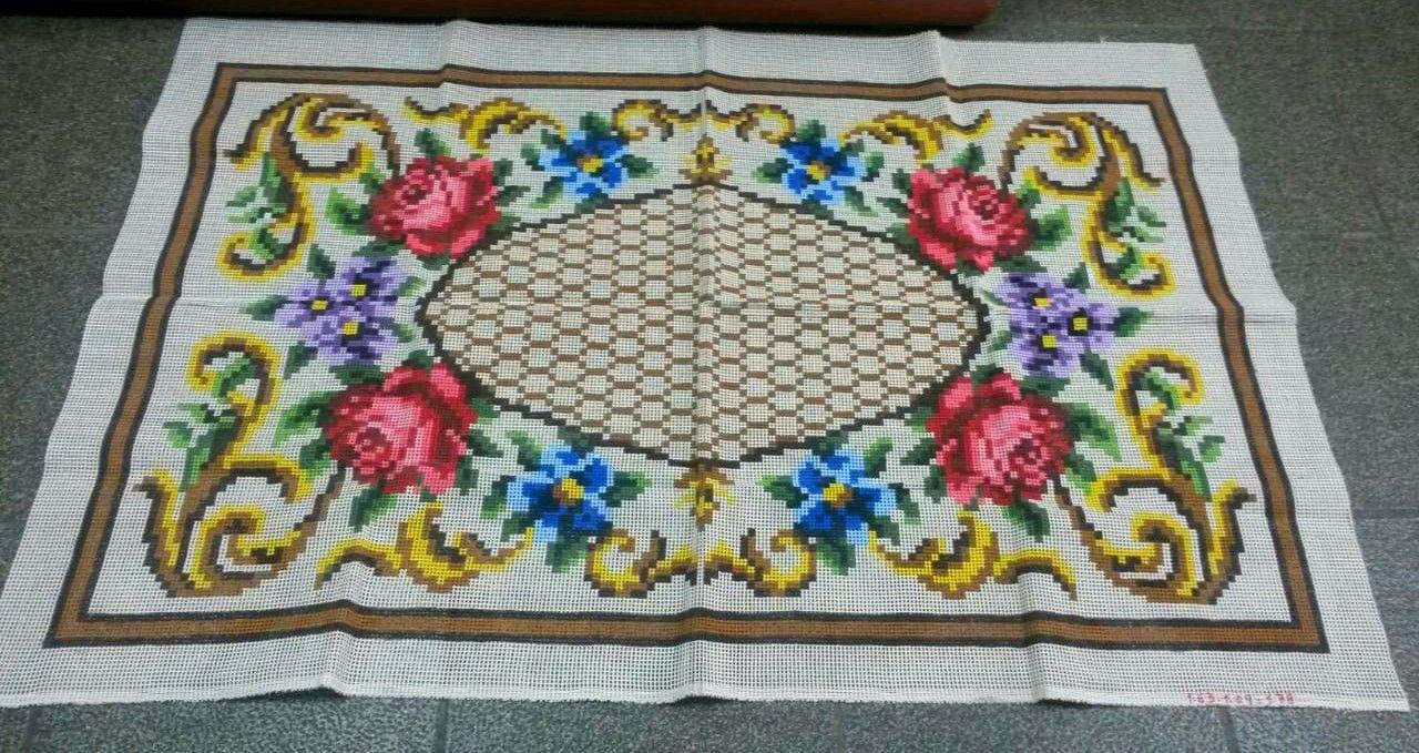 Tela Tapete Floral 39  - Conceição Spinola Tapeçaria