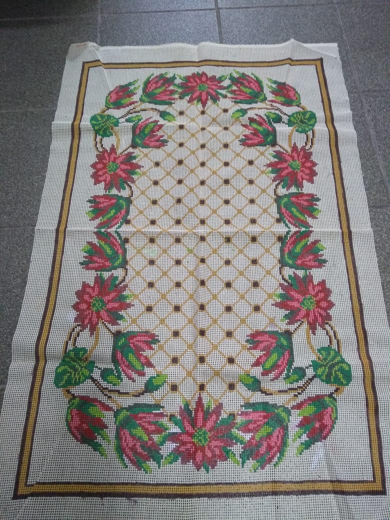 Tela Tapete Floral 40  - Conceição Spinola Tapeçaria