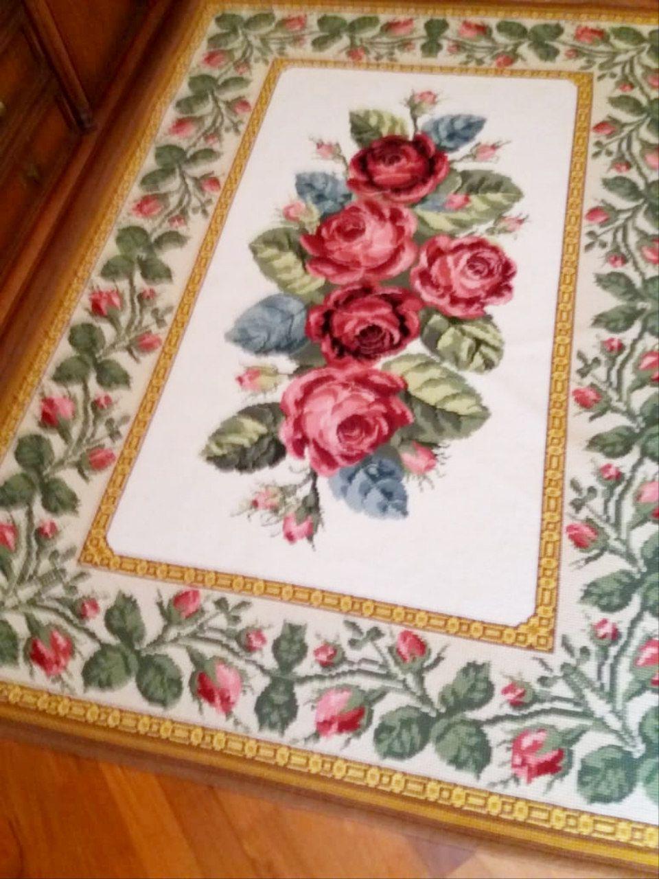 Tela Tapete Floral 41  - Conceição Spinola Tapeçaria