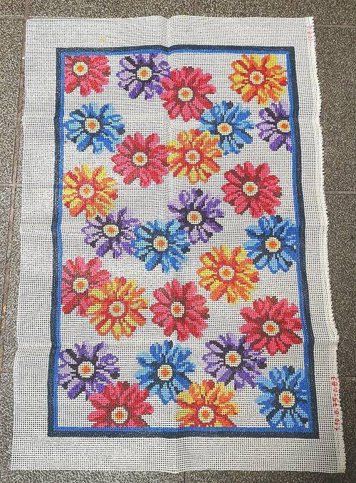 Tela Tapete Floral 4  - Conceição Spinola Tapeçaria