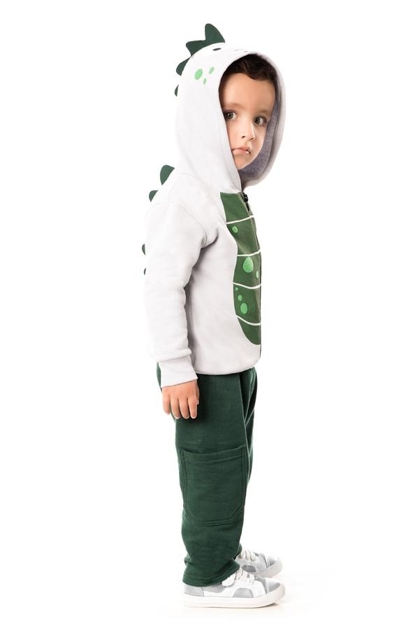 CONJUNTO INFANTIL MASCULINO DETALHE DINOSSAURO REF. 22335