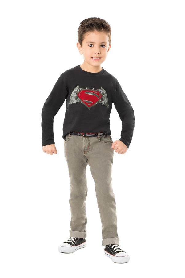 CAMISETA INFANTIL SUPER MAN REF.M2040