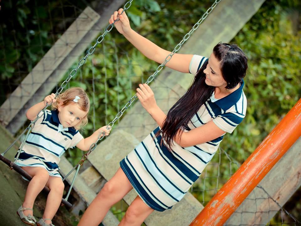 VESTIDO POLO INFANTIL COLEÇÃO FAMILIA - REF. 6301