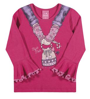 Blusa Infantil Style Folk - Ref. 7668