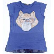 Blusa Infantil BubbleGum Cat  - Ref.30791
