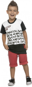 Camiseta infantil masculina Mickey Mouse Ref.85035