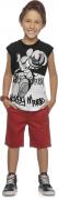 Camiseta infantil masculina regata Mickey Mouse Ref.85044
