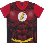 Camiseta infantil masculina Super Homem e Flash ref. 82087