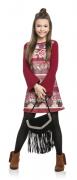 Vestido Florido Infanto Juvenil Ref.7716
