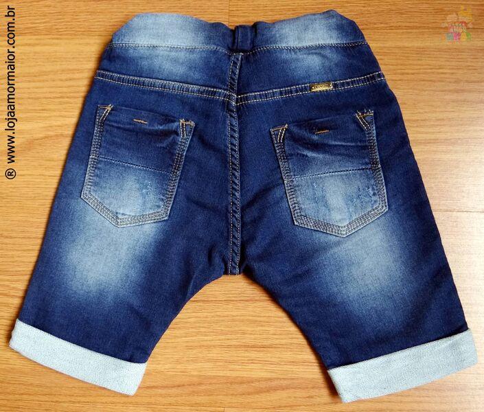 Bermuda Masculina Jeans Saruel - Ref. 3548