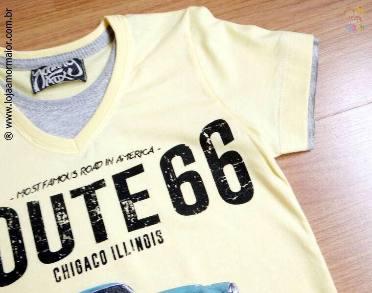 Camiseta Infantil Route 66 - Ref. 19508
