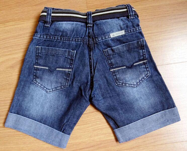 Bermuda Jeans Masculina com Cinto - Ref. 3667