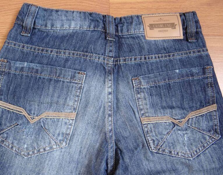 Bermuda Jeans Infantil c/ Barra Virada - Ref. 3681