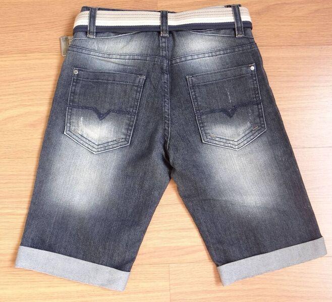 Bermuda Jeans Infantil com Cinto - Ref. 3626
