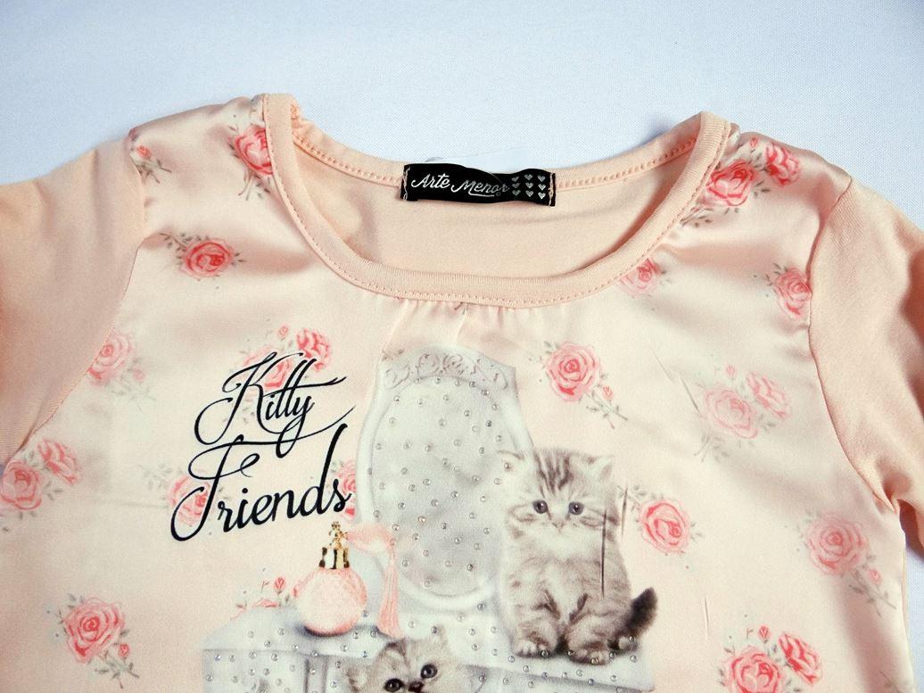 Blusa Manga Longa Kitty Friends - Ref. 30701