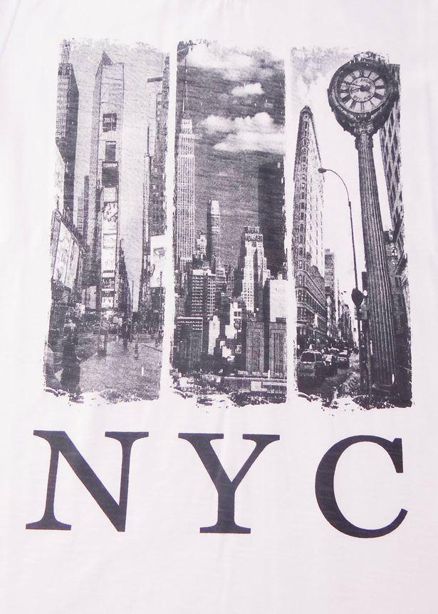 CAMISETA MANGA LONGA MASCULINA NYC - REF. 30835