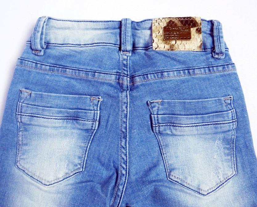 Bermuda Jeans Infantil Feminina - Ref. 3796